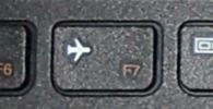Notebook Fn-Taste Flugzeugmodus