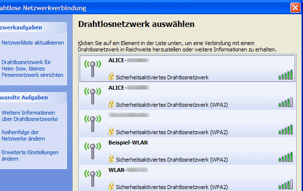 Windows XP WLAN einrichten » bits meet Bytes