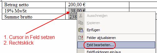 Word 2002 Formel ändern 1