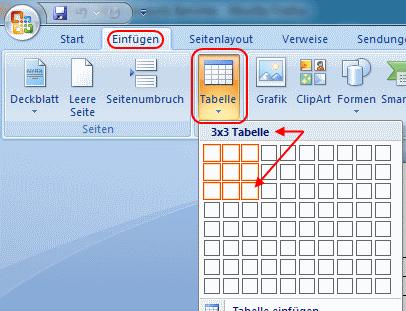 Word 2007: Rechnen mit Tabellen und Formeln - bits meets Bytes