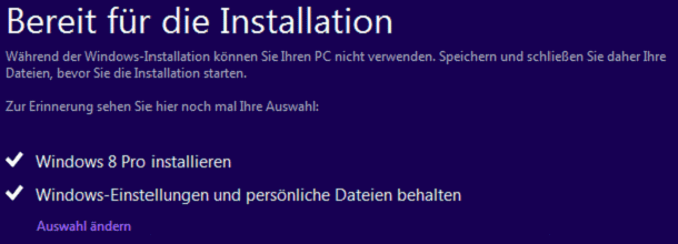 Windows 8 Upgrade - Bild 23
