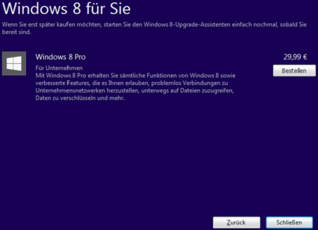 Windows 8 Upgrade - Bild 7