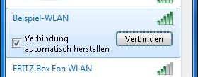 Windows 7 WLAN einrichten