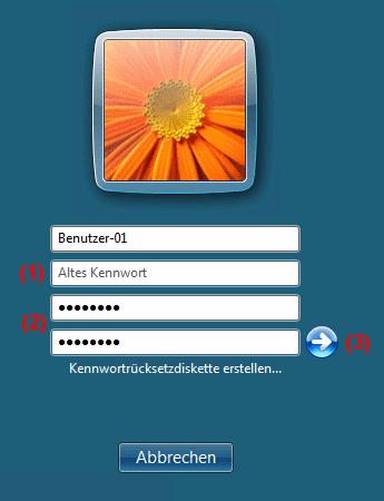 Windows Vista Kennwort erstellen