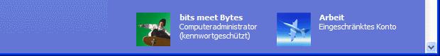 Windows XP neuer Benutzer
