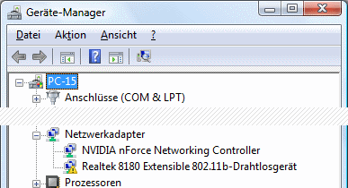Windows Vista Geräte-Manager Code 10