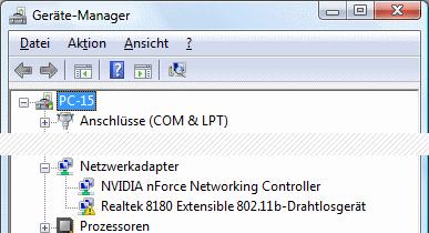 Windows Vista Geräte-Manager Code 10