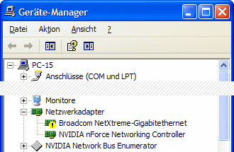 Windows XP Geräte-Manager Code 10