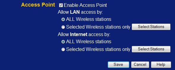WLAN-Router LevelOne WBR-3408 WLAN ein und ausschalten