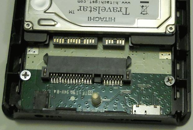 Notebook-Festplatte in externes USB-Gehäuse einbauen
