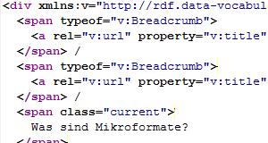 Was sind Mikroformate?