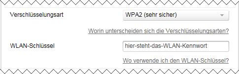 Speedport W 724V WLAN-Kennwort und WLAN-Verschlüsselung ändern