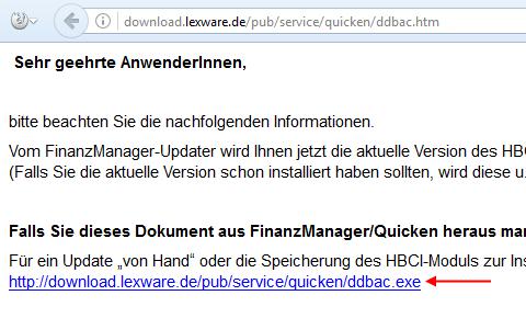 Lexware DDBAC Download