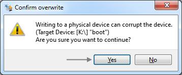 Image-Datei mit Win32 Disk Imager auf SD-Karte schreiben