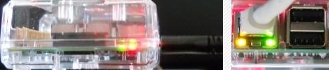 Raspberry Pi 3 Status-LEDs