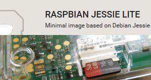 Raspbian Lite auf MicroSD-Karte installieren